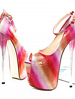 Women's Heels 19CM Heel Height Sexy Peep Toe Stiletto  Pumps Party Shoes