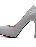 Women's Heels Light Up Shoes PU Wedding Office & Career Party & Evening Light Purple Black