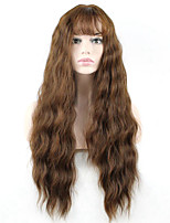 Hot Selling Brown Color Synthetic Cosplay Wigs For Women Party Wigs