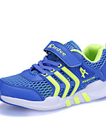 Boys' Athletic Shoes Summer Fall Comfort PU Tulle Outdoor Athletic Casual Flat Heel Buckle Running