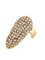 Ring Euramerican Fashion Rhinestone Zinc Alloy Jewelry For Wedding Party Special Occasion 1pc