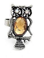 Anneaux Bague Imitation de diamantBasique Original Logo Animal Amitié Pierre Le style mignon euroaméricains Bricolage Bijoux initial