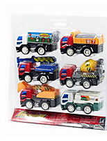 Construction Vehicle Pull Back Vehicles Car Toys 1:25 ABS Plastic Rainbow Model & Building Toy