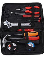 Jtech 180012 Household Hand Tools Set 12 Pieces of Portable / 1 Set