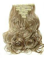 Mit Clip Synthetik Haarverlängerungen 160 Haar-Verlängerung