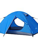 2 personnes Tente Double Tente pliable Une pièce Tente de camping 2000-3000 mm Fibre de verre OxfordRésistant à l'humidité Etanche