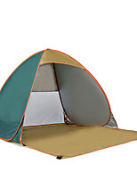 2 persons Tent Single Automatic Tent One Room Camping Tent Stainless Steel Portable-Camping Traveling-