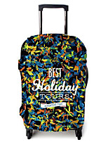 Luggage Cover for Luggage Accessory Polyester-Black/Blue