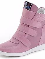 Damen-Stiefel-Lässig-PU-Blockabsatz-Fersenriemen-