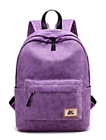 Unisex Backpack Canvas All Seasons Formal Sports Casual Outdoor Office & Career Professioanl Use Shopping Bucket ZipperPeach Amethyst