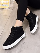 Women's Sneakers Spring Comfort PU Canvas Casual