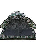 2 Pessoas Tenda Duplo Tenda Dobrada Um Quarto Barraca de acampamento 2000-3000 mm Fibra de Vidro Oxford Prova de Água Portátil-Equitação