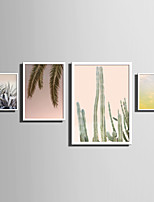E-HOME® Framed Canvas Art   Simple Natural Scenery And Plant Series (3) Theme Series Framed Canvas Print One Pcs