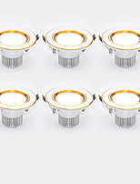 6Pcs Yangming3W 30006000K Warm White Cool White LED Canister Light (85-265V)  002