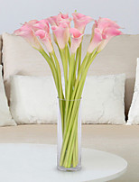 5 Branch Large Size True touch Calla Lily Artificial Flowers