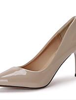 Femme-Bureau & Travail Habillé Soirée & Evénement--Talon Aiguille-Confort club de Chaussures-Chaussures à Talons-Cuir Verni