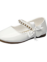 Girls' Flats Spring Fall Comfort Leatherette Wedding Outdoor Office & Career Party & Evening Dress Casual Flat HeelBowknot Imitation