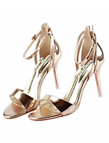 Women's Sandals Summer Slingback PU Casual Gold