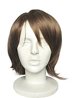 Hot Sales Capless Short Wavy Synthetic Wig Cosplay Wavy Anime Wigs Fashion Wig