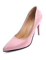 Women's Heels Fall Winter Club Shoes PU Outdoor Office & Career Casual Stiletto Heel Split Joint Walking
