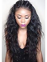 Новый стиль 150% плотность бразильских vrigin человеческих волос кружево парики кружева передние человеческие волосы парики естественные