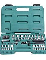 Sata® 09011 65pc 6.3x10mm Profi-Schraubenschlüssel Werkzeug-Set mit Werkzeugkasten