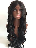 hot !!! korkealaatuista 8-26 100% Brasilian ihmisen neitsyt hiukset kehon aalto Nyörilliset peruukki gueless Nyörilliset peruukki nainen