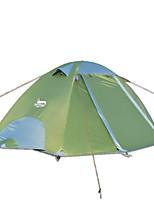 2 человека Световой тент Двойная Складной тент Однокомнатная Палатка 2000-3000 мм Оксфорд Водонепроницаемый-Походы