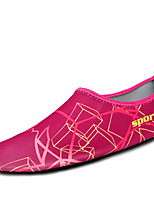 -Для женщин-Для прогулок-Ткань-На плоской подошве-Удобная обувь Светодиодные подошвы-Мокасины и Свитер