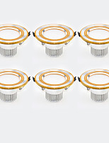 6Pcs Yangming3W 30006000K Warm White Cool White LED Canister Light (85-265V)  003