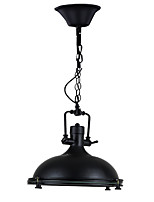 Pendant Light ,  Modern/Contemporary Traditional/Classic Rustic/Lodge Country Painting Feature for Designers MetalLiving Room Bedroom