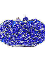 Bridal Clutches Rhinestone Luxury Floral Evening/Event/Party/Cocktail/Dinner