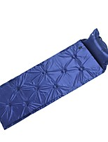 Moistureproof/Moisture Permeability Inflated Mat Sleeping Pad Blue Camping Traveling
