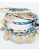 Noble Fashion In Europe And The United States Joker Multilayer Round Pearl Bracelet