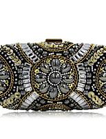 L.WEST Woman Fashion Luxury High-grade Handmade Beaded Evening Bag