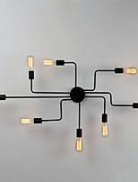 Montagem do Fluxo ,  Contemprâneo Tradicional/Clássico Retro Lanterna Rústico Pintura Característica for Estilo Mini Designers MetalSala