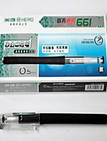 Gel Pen Stylo Stylos gel Stylo,Plastique Baril Noir Couleurs d'encre For Fournitures scolaires Fournitures de bureau Paquet