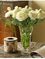 10 Pièces 10 Une succursale Soie Pivoines Fleur de Table Fleurs artificielles