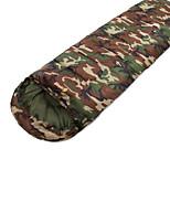 Sleeping Bag Rectangular Bag Single 15 T/C Cotton 210X75 Camping Moistureproof/Moisture Permeability Keep Warm 自由之舟骆驼