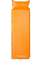 Moistureproof/Moisture Permeability Inflated Mat Camping Pad Orange Camping Traveling