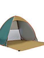 2 personnes Tente Unique Tente automatique Une pièce Tente de camping Acier inoxydable Portable-Camping Voyage