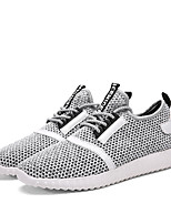 -Для мужчин-Для прогулок Повседневный Для занятий спортом-Тюль-На плоской подошве-Удобная обувь-Кеды