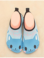 Girls' Slippers & Flip-Flops Summer Comfort Fabric Casual Flat Heel Blushing Pink Blue Green