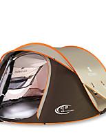 3-4 человека Световой тент Двойная Автоматический тент Однокомнатная Палатка 2000-3000 мм Углеволокно ОксфордВлагонепроницаемый