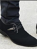 Мужские сандалии весна комфорт тюль случайный черный