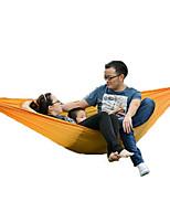 1 personne Hamac Tente pliable Tente de camping Toile Pliable Portable-Camping Plage Extérieur-Orange