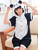 kigurumi Pyjamas Panda Collant/Combinaison Fête / Célébration Pyjamas Animale Halloween Mosaïque Kigurumi Pour Unisexe Carnaval