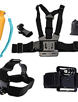 Chest Harness Front Mounting Floating Buoy Wrist Strap Hand Straps All in One ForAll Gopro Xiaomi Camera Gopro 4 Black SJ5000 SJCAM