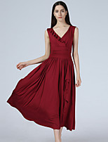 Maxlindy Women's Going out / Party/Holiday Vintage / Street chic Swing Dress