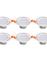 6Pcs Yangming3W 30006000K Warm White Cool White LED Canister Light (85-265V)  011